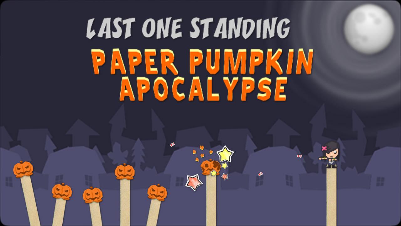 Last One Standing: Paper Pumpkin Apocalypse