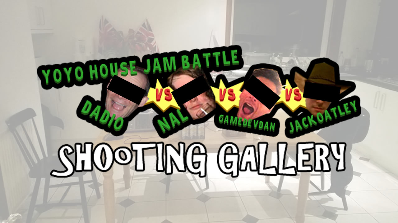 Jam Battle Shooting Gallery