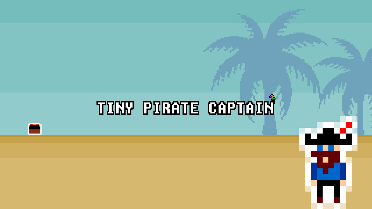 Tiny Pirate Captain