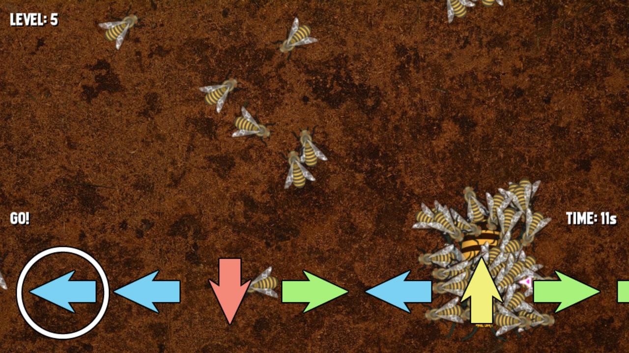 Super Honeybees Cluster on Hornet