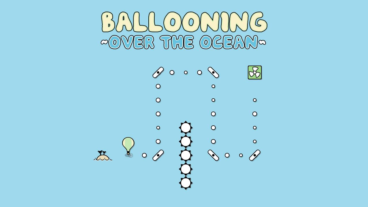 Ballooning Over The Ocean