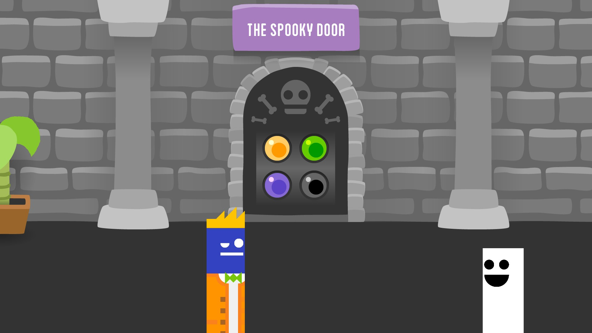 The Spooky Door